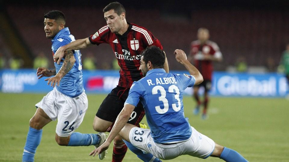 Наполи - Милан: сможет ли Наполи вернуть себе первую строчку?