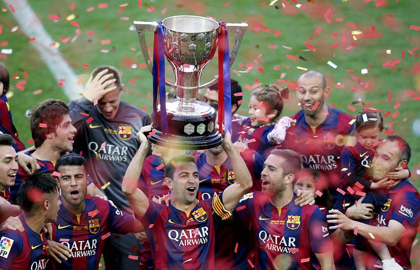 Барселона и ее рекордный заработок за один сезон