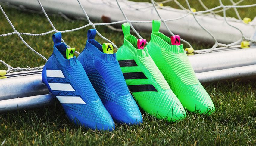 Футбольные бутсы Adidas ACE 16+ Purecontrol Primeknit