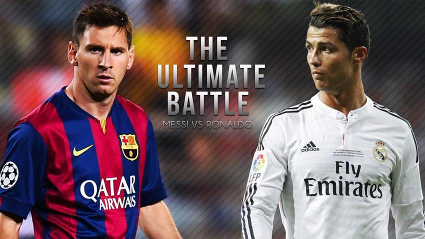 Versus Battle: Месси vs Роналду