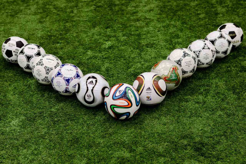 Как заклеить небольшой прокол на профессиональном мяче?
