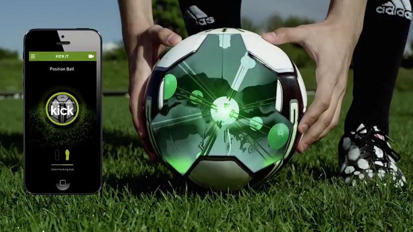 Умный футбольный мяч от Adidas — miCoach Smart Ball