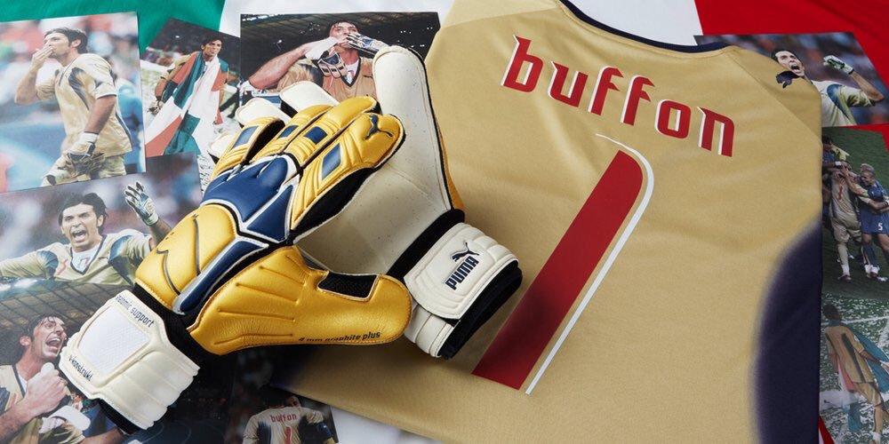 Puma воскресила перчатки Буффона