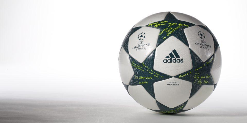 Adidas презентовали новый мяч для ЛЧ 2017 года