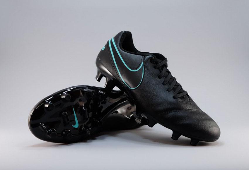 Бюджетные бутсы Nike Tiempo Genio II FG шестого поколения