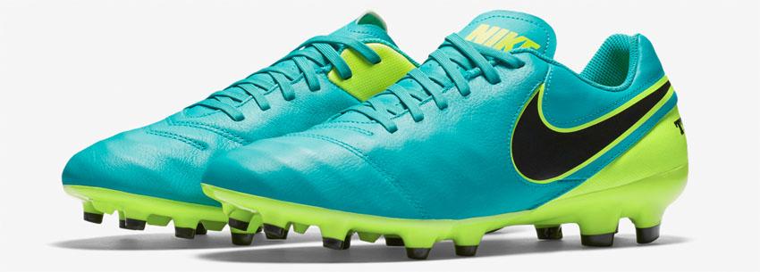 футбольные бутсы Nike Tiempo Genio II FG