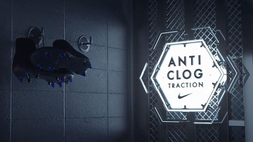 Немного о технологии Nike Anti-Clog Traction