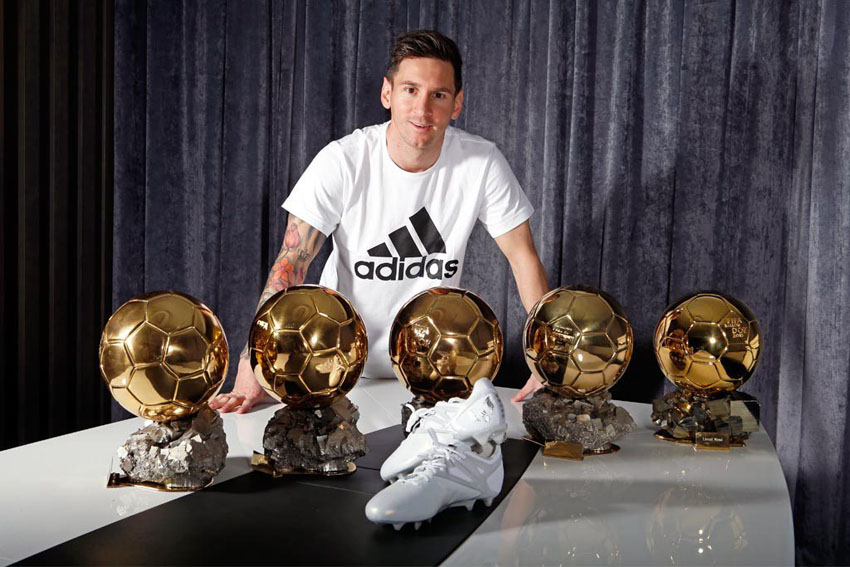 Adidas Messi15 Ballon d'Or