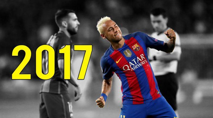 Неймар: голы и финты за 2017 год