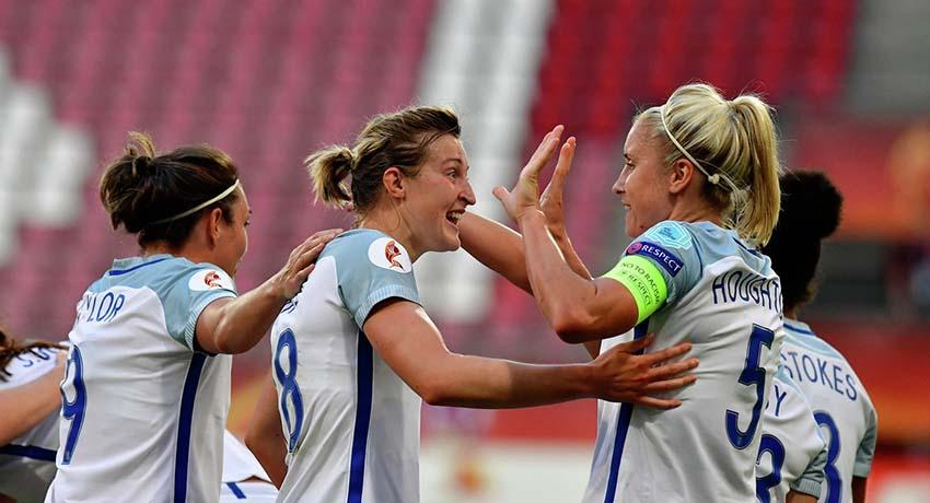 женская сборная Англии
