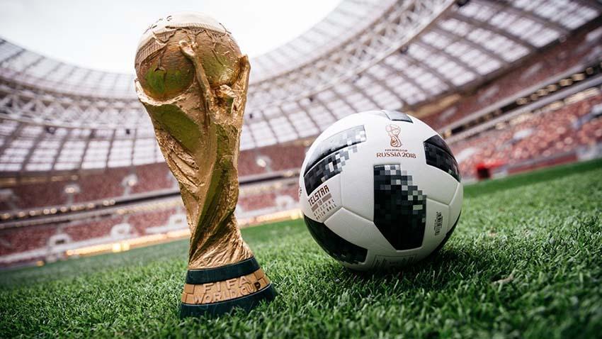 футбольный Мяч FIFA 2018