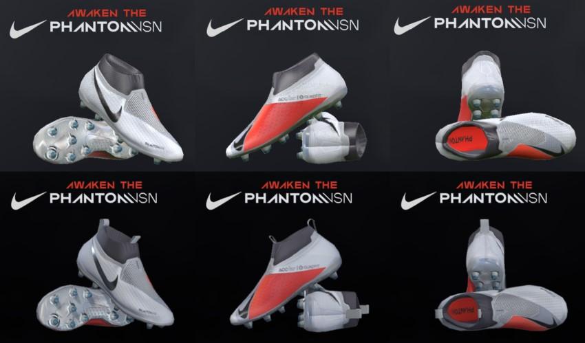 линейка бутс Nike Phantom Vision