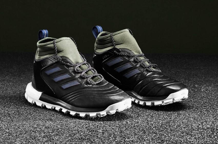 Футбольные кроссовки Adidas Copa Mid GTX TR для мокрой погоды